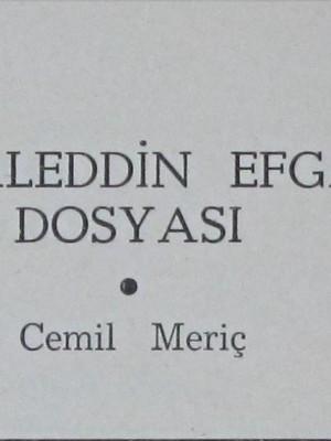 Cemil Meriç'ten Cemaleddin Efganî ...